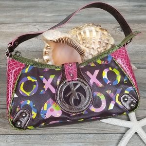 XOXO Signature Graffiti Shoulder Bag